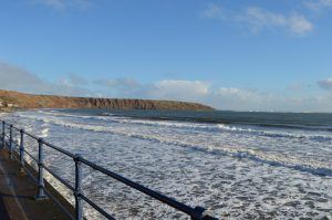 View of the sea from Filey